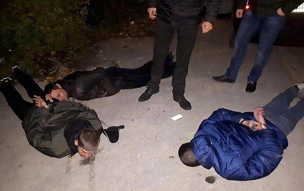 В Запорожье задержали банду, похитившую человека