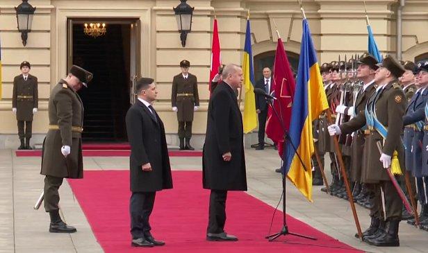 фото - Эрдоган в Киеве