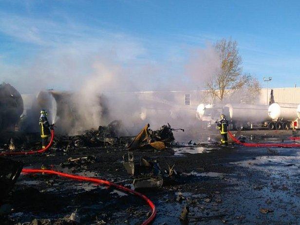 Пожар на химическом заводе во Франции: пострадали трое пожарных, проведена эвакуация населения