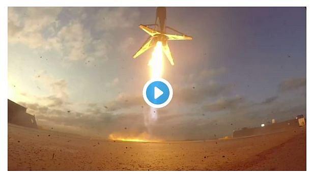 В SpaceX показали все успешные приземления ракеты Falcon 9 на видео
