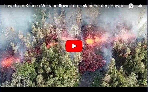На Гавайях идет эвакуация: началось извержение вулкана Килауэа (видео)