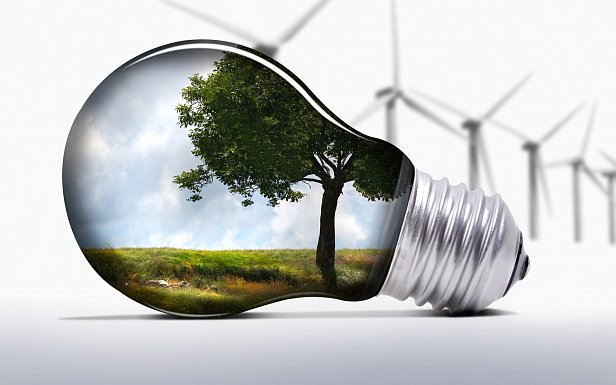 Иллюстрация к альтернативной энергетике