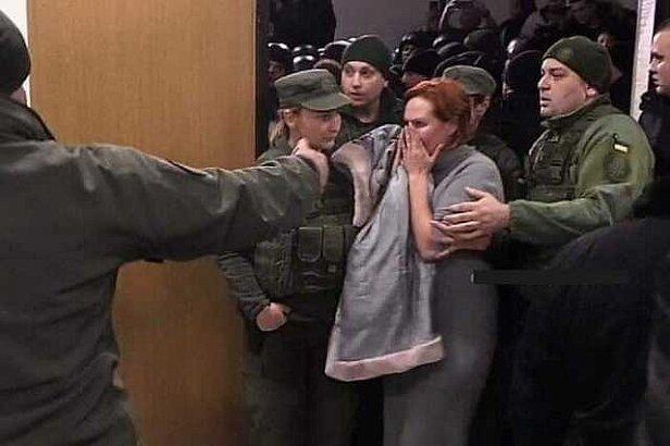 фото - суд над Кузьмено по делу Шеремета