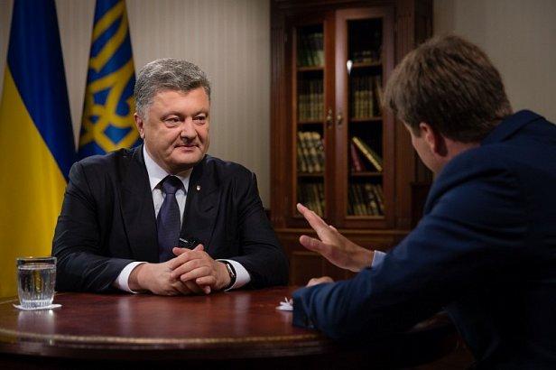 На фото  - Петр Порошенко