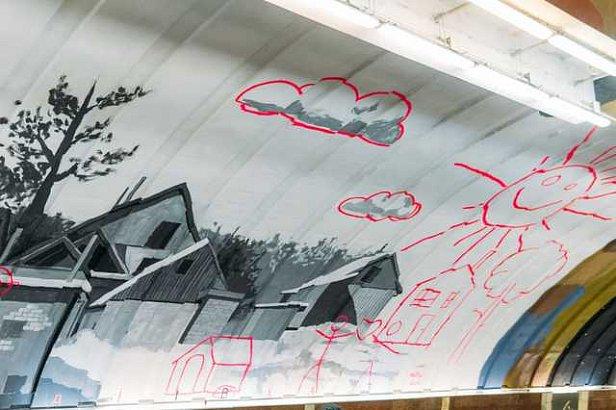 Муралы на Осокорках: сколько стоит работа художников