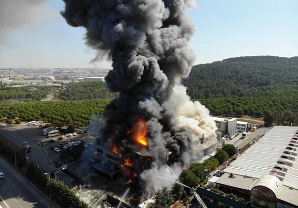Фото - взрыв на химзаводе
