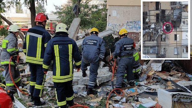 фото - взрыв газа на Григоренко