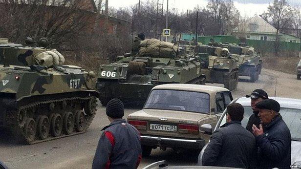 СРОЧНО: Россия подтянула войска в границам Украины