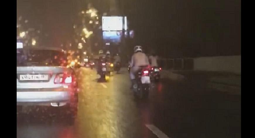 В Москве устроили голый мотопробег. Видео 18+