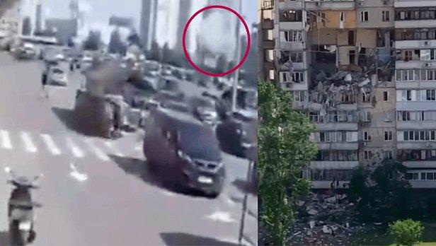 фото - видео взрыва на Позняках