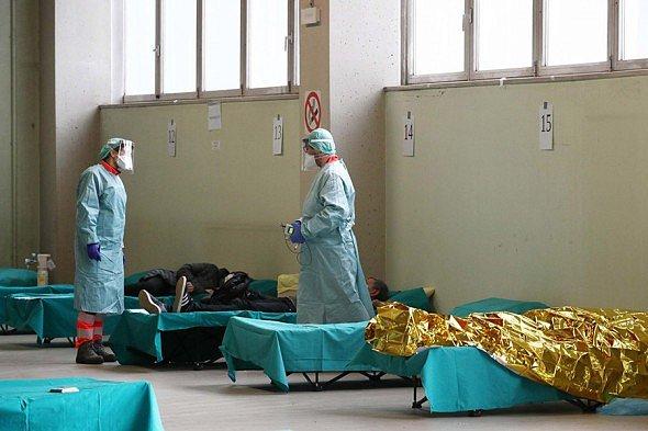 фото - коронавирус в Италии