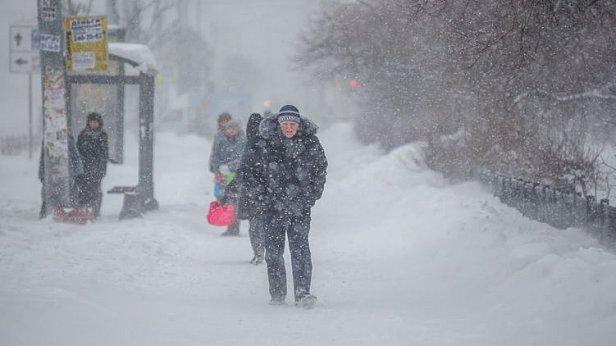 Фото — Непогода в Украине