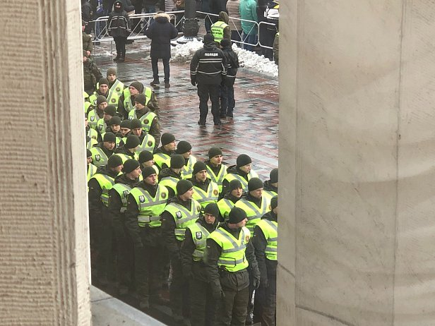 фото - полиция в Киева