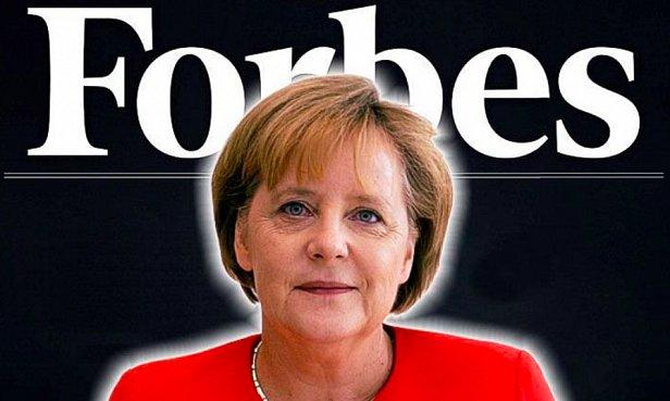 фото - Мерекель в Forbes