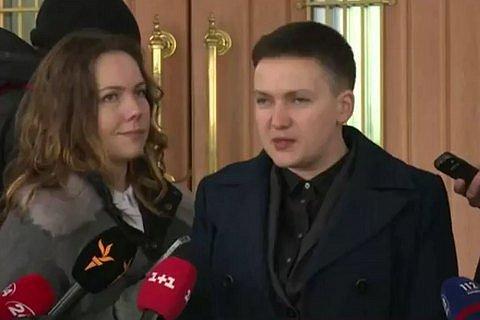Савченко: власть Украины работает на Россию