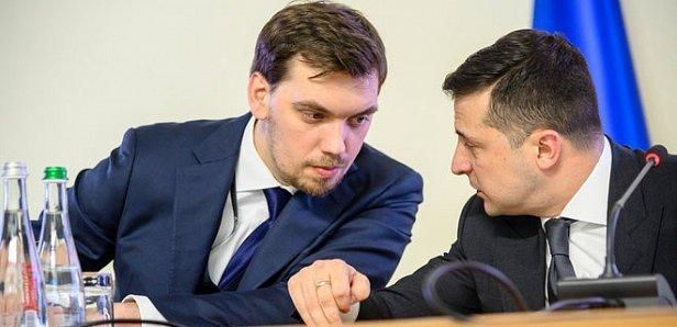 Фото — Алексей Гончарук и Владимир Зеленский