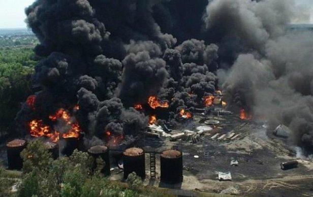 Пожар на нефтебазе под Васильковом забрал жизни 5 человек