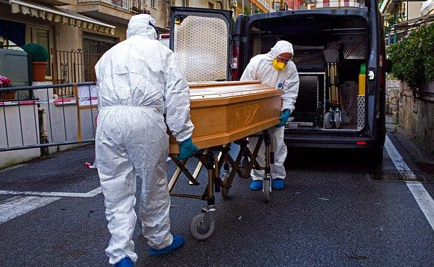 фото - пандемия коронавируса в Европе