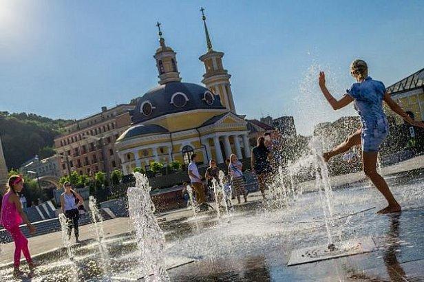Фото - Июль вернул в Украину жару