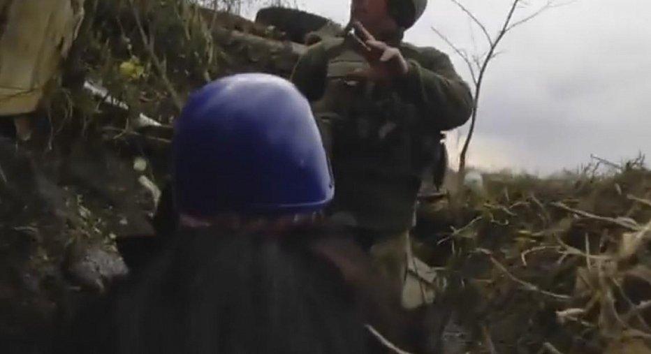 Бой под Мариуполем: экстремальное видео