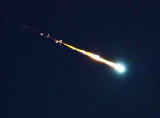 фото - упал метеорит