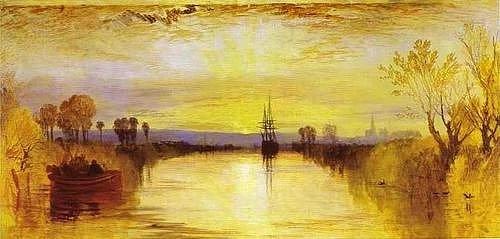 Уильям Тернер, «Чичестерский канал», 1829