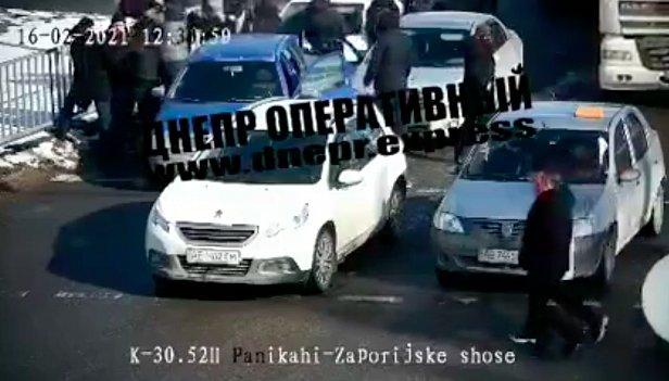 фото - задержание Шарий в Днепре