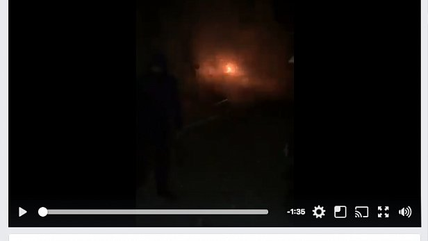 Первые минуты после взрыва: опубликованы страшные кадры (видео)