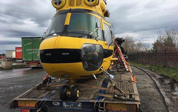 Иностранец пытался провезти в Украину вертолёт