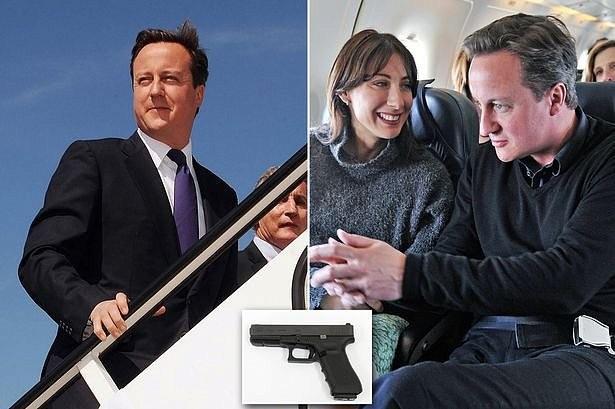 фото - Дэвид Кэмерон про пистолет