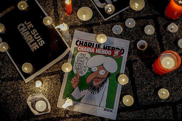 В среду Charlie Hebdo опубликует новые карикатуры на пророка Мухаммеда