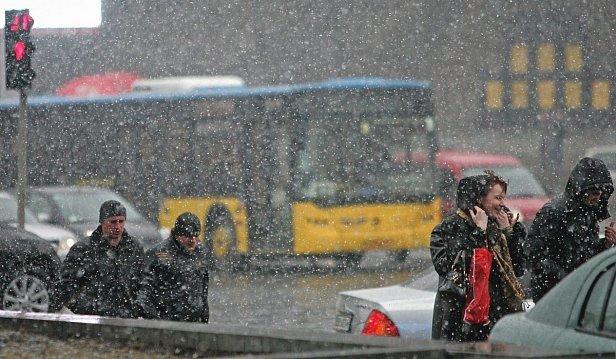 фото - мокрый снег