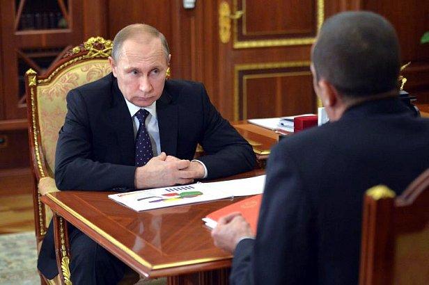 фото - Путин и Игнатьев