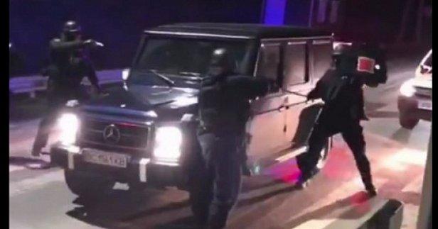 Полиция задержала стрелков из Мукачево (видео)