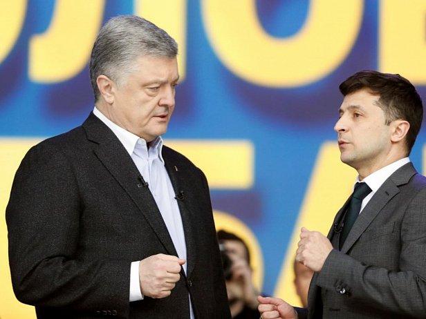 Фото: Петр Порошенко и Владимир Зеленский