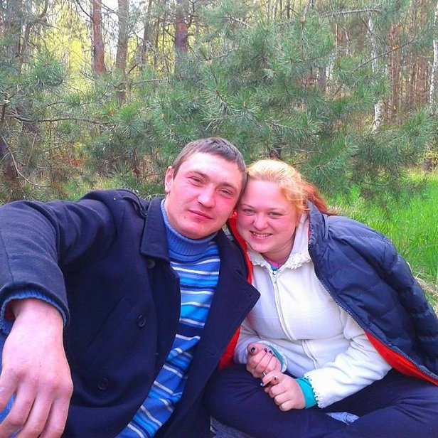 Юрий Евтушка с женой