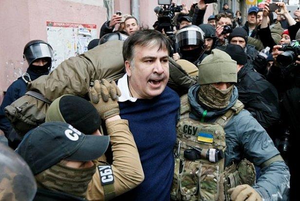 "Спецназ ""Альфа"" задержал Саакашвили"