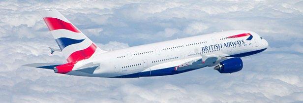 На фото - British Airways