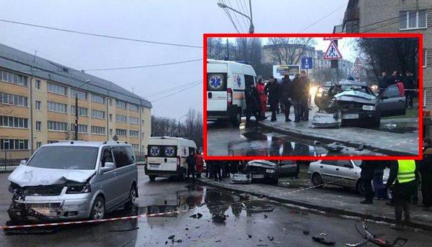 фото - ДТП во Львове