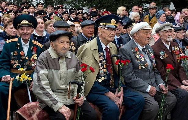 Фото — Ветераны войны в Узбекистане