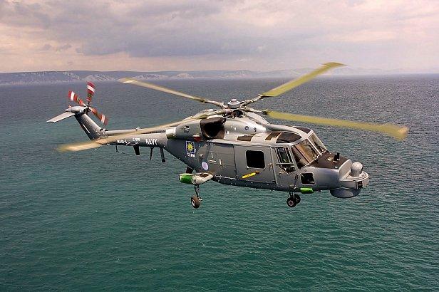 На фото  - вертолет