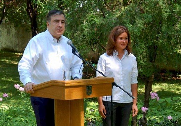 Заместителем Саакашвили стала россиянка Мария Гайдар
