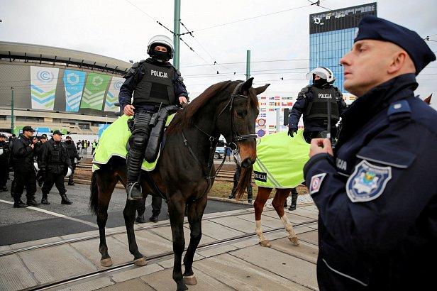 Полиция Польши Фото: Reuters