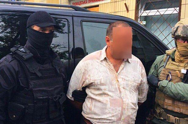 Задержание членов преступной группировки