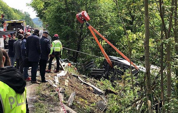 Фото - В Италии автобус с россиянами попал в смертельное ДТП