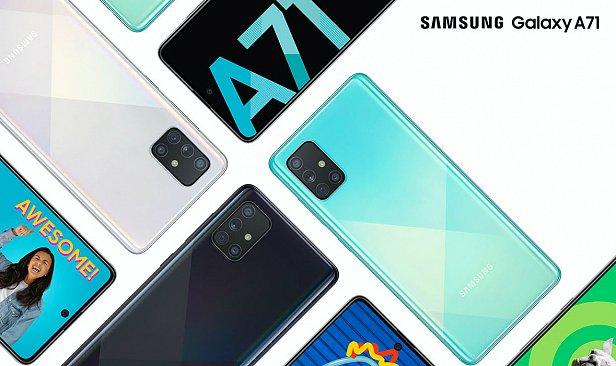 Обзор нового Samsung Galaxy A71 в 2020 году
