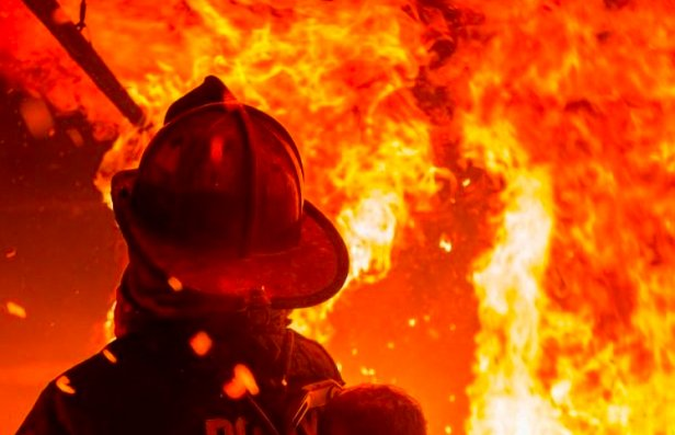 фото - пожар Roshen