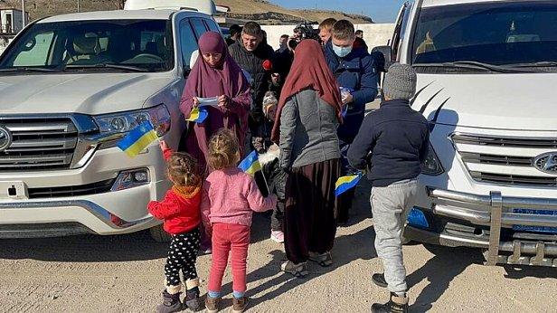 Фото - Украинки из сирийского лагеря