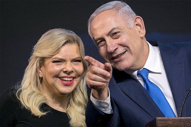 Фото - Биньямин Нетаньяху с женой