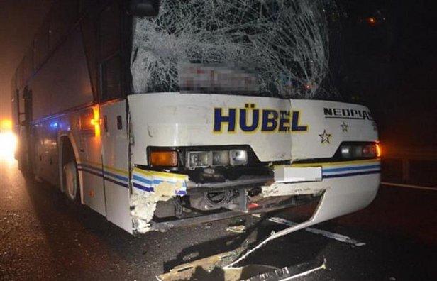 В ДТП в Венгрии с участием украинского автобуса пострадали пять человек